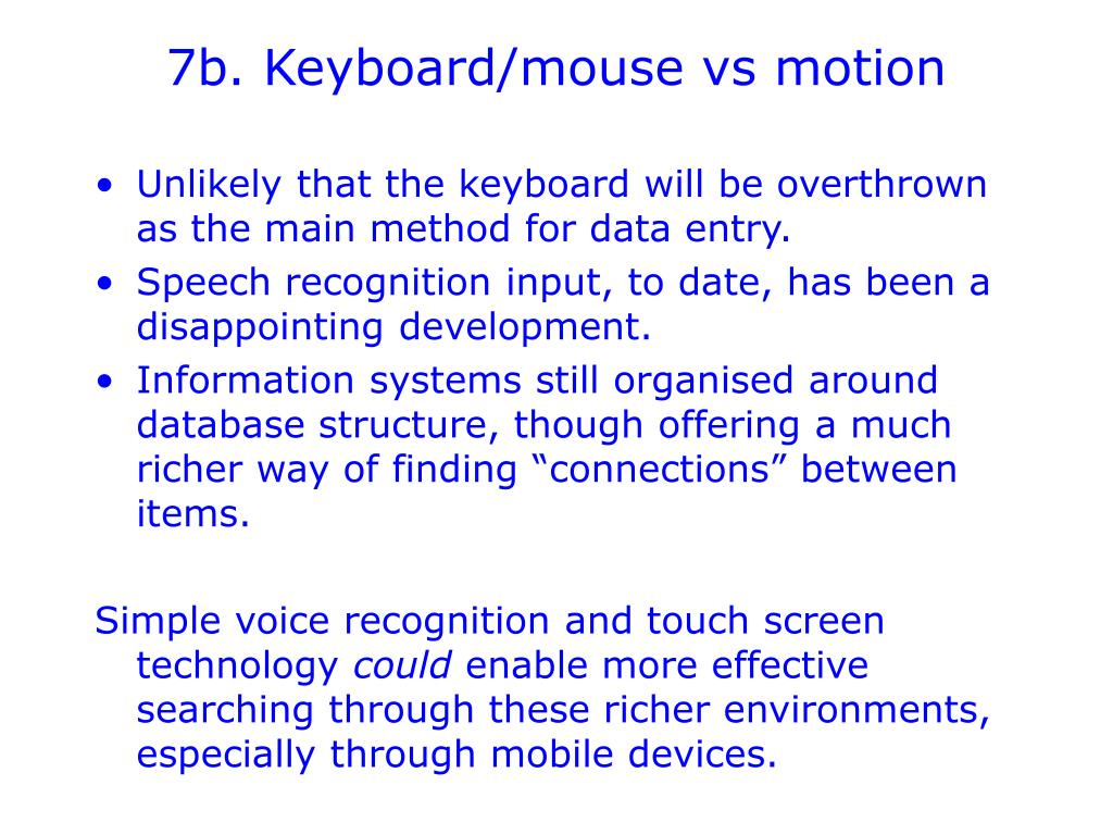 7b. Keyboard/mouse vs motion