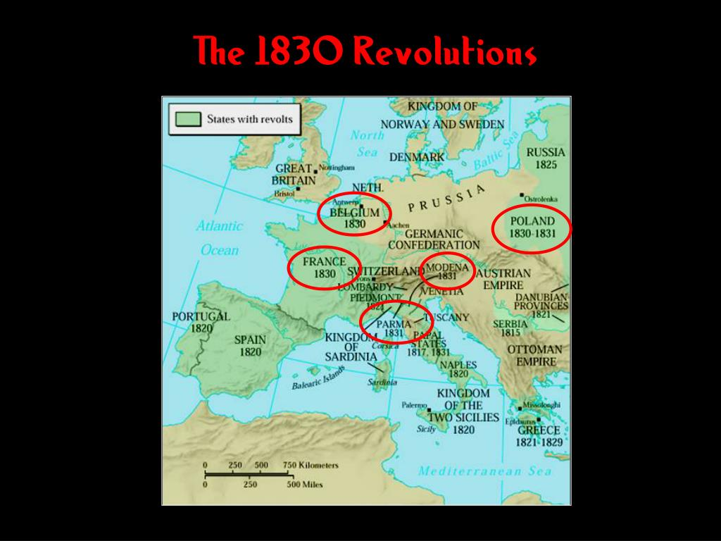 The 1830 Revolutions