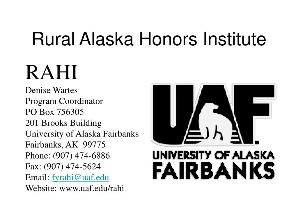 Rural Alaska Honors Institute