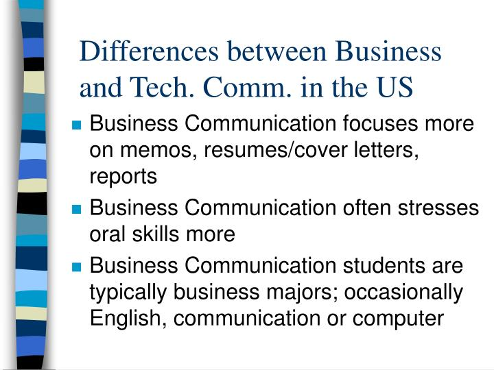 Differences between business and tech comm in the us l.jpg