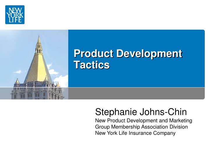 new product development strategy tactics and New tactics are required to get the notice you deserve –author david lavenda is a product strategy and marketing executive at a high-tech company.