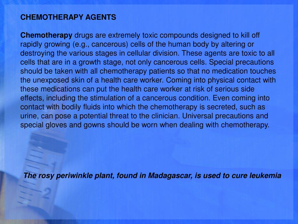 CHEMOTHERAPY AGENTS