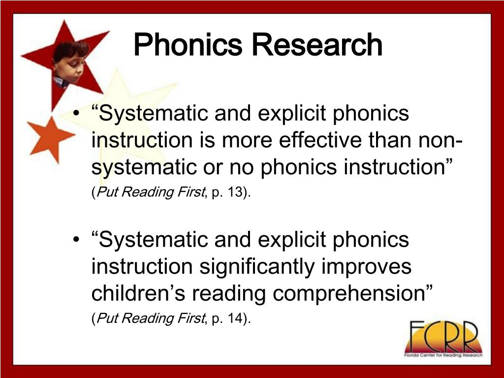 Phonics Research