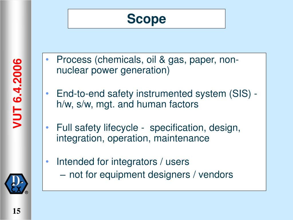 Process (chemicals, oil & gas, paper, non-nuclear power generation)