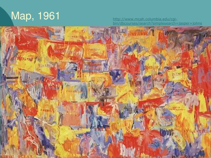 Map, 1961