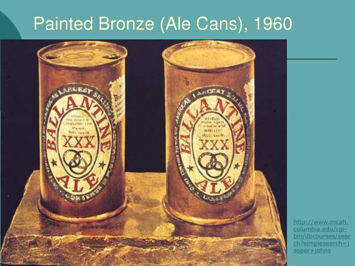 Painted Bronze (Ale Cans), 1960