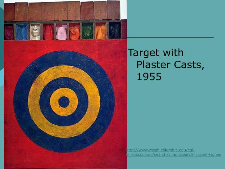 Target with Plaster Casts, 1955