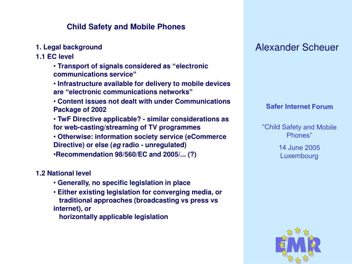 Child safety and mobile phones3
