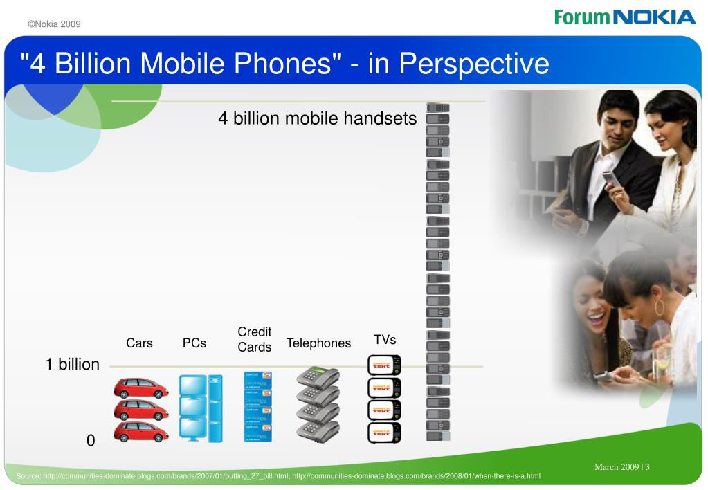 """4 Billion Mobile Phones"" - in Perspective"