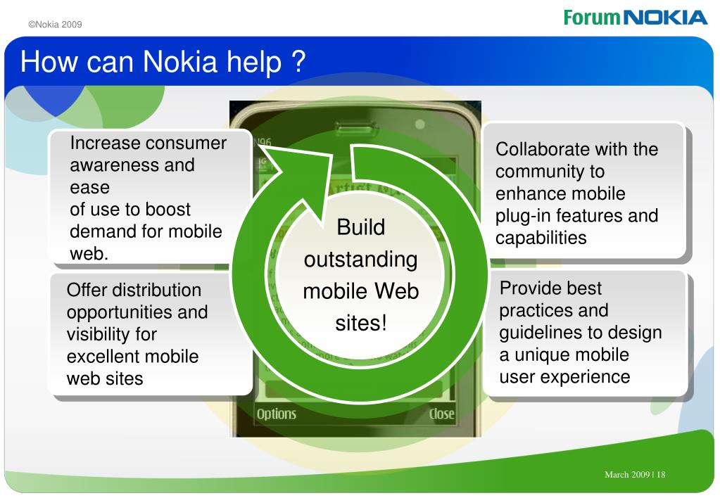 How can Nokia help ?