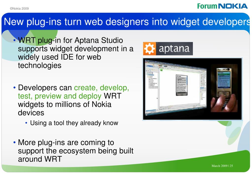 New plug-ins turn web designers into widget developers