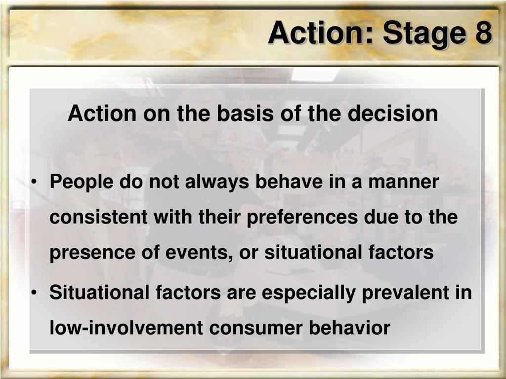 Action: Stage 8