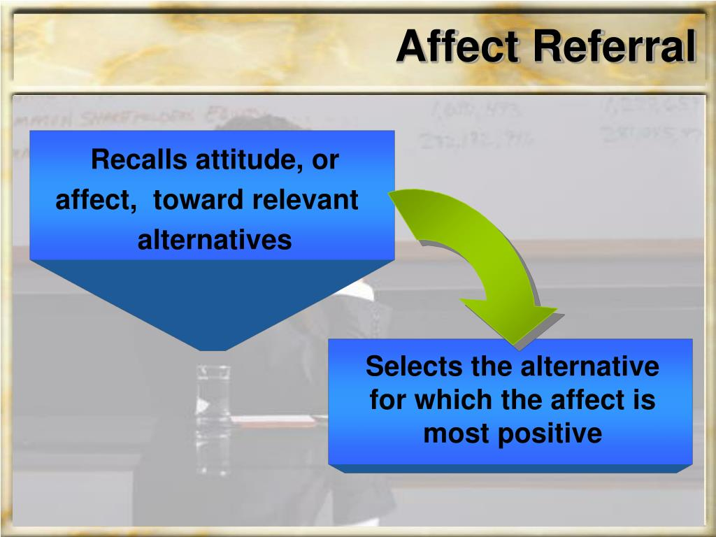 Affect Referral