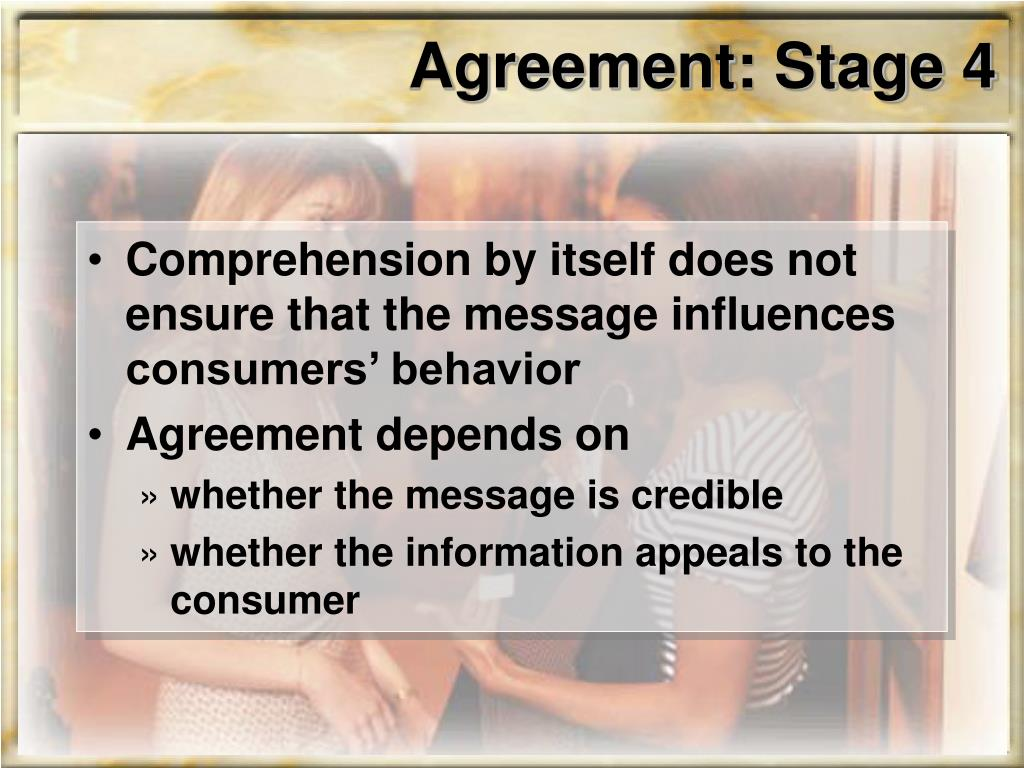 Agreement: Stage 4