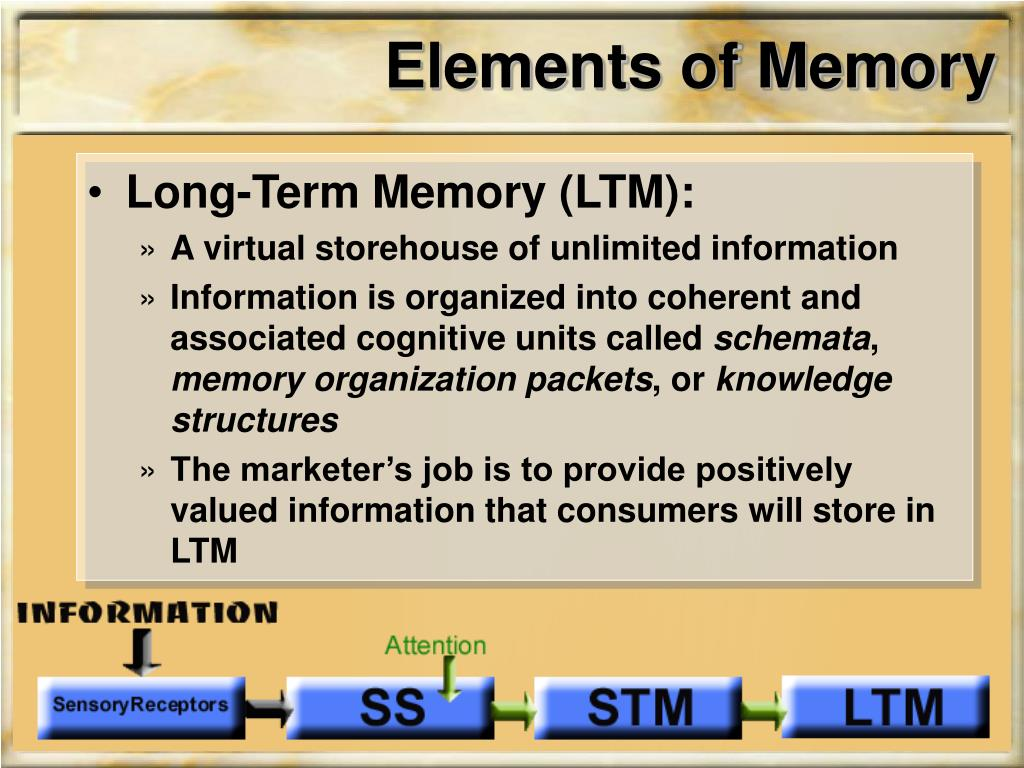 Elements of Memory