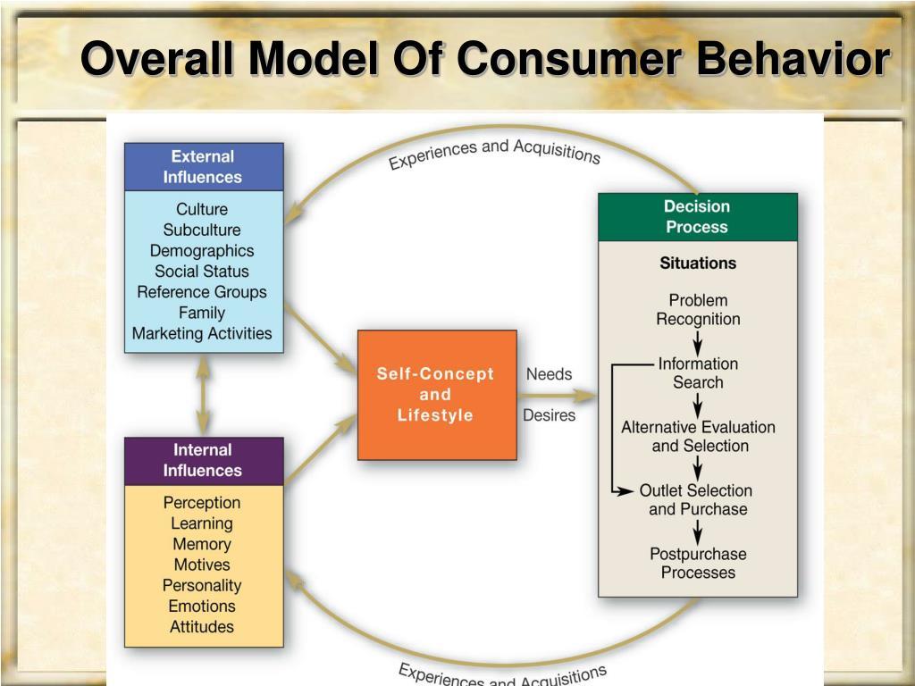 Overall Model Of Consumer Behavior