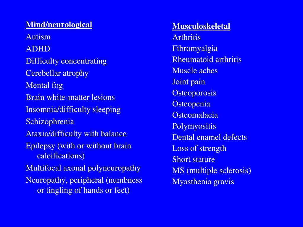 Mind/neurological