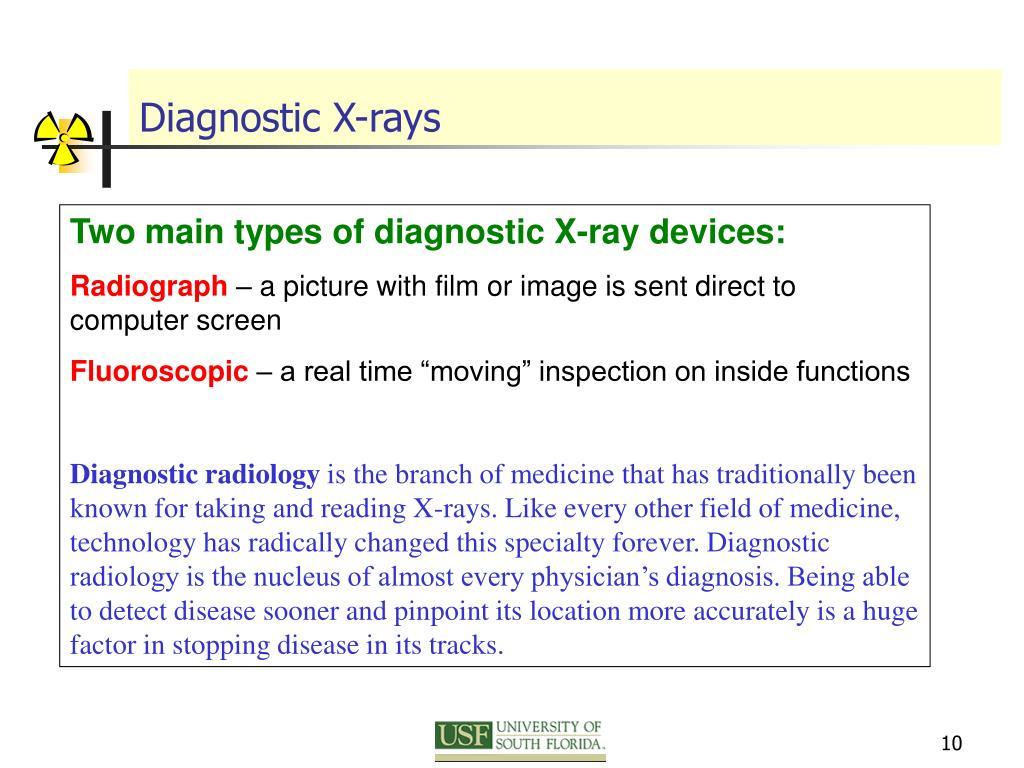 Diagnostic X-rays