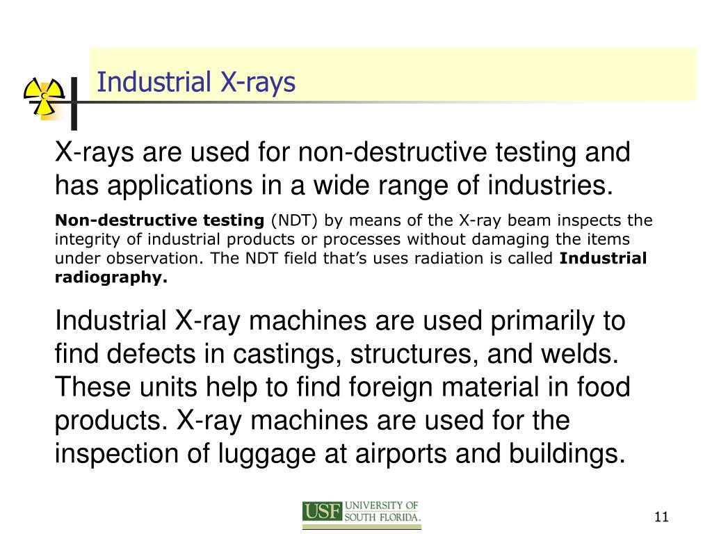 Industrial X-rays