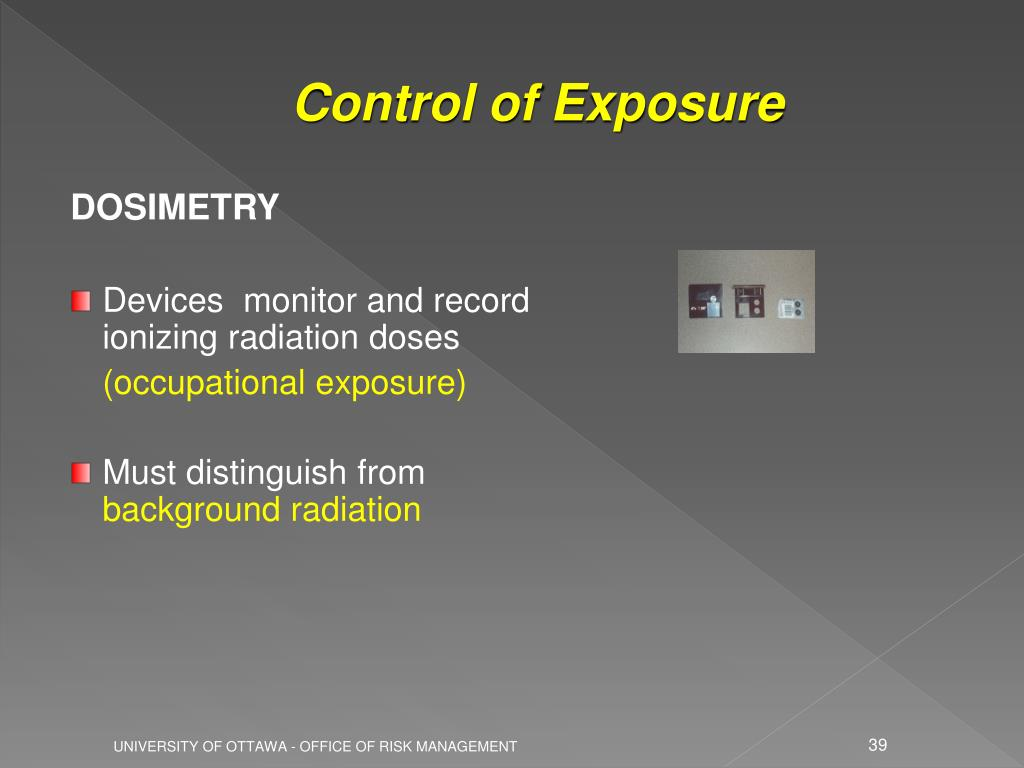 Control of Exposure