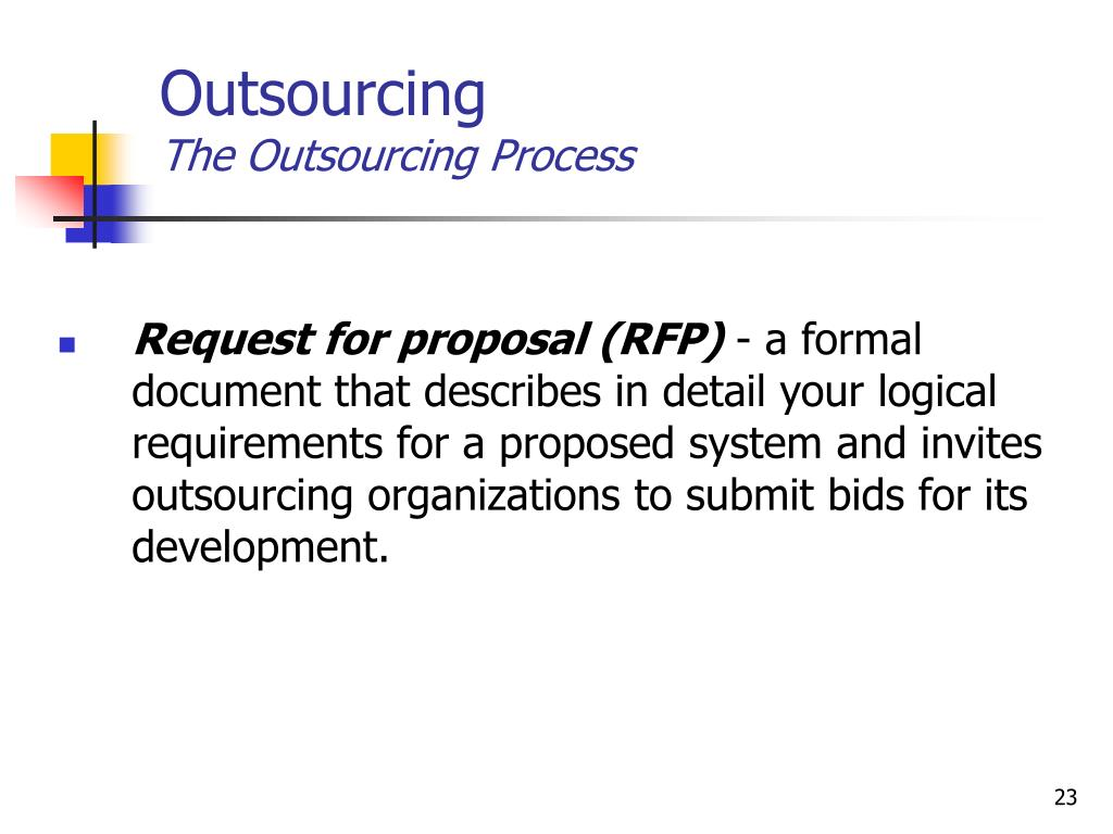 What are the advantages and disadvantages of the rfp process