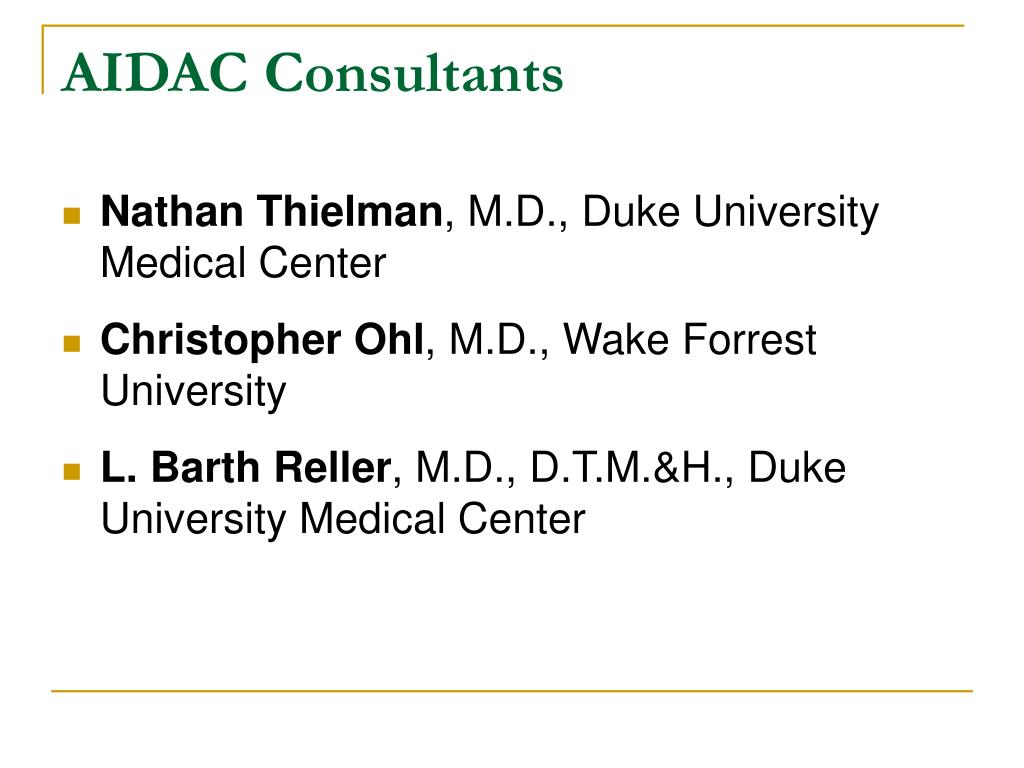 AIDAC Consultants