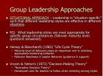 group leadership approaches2