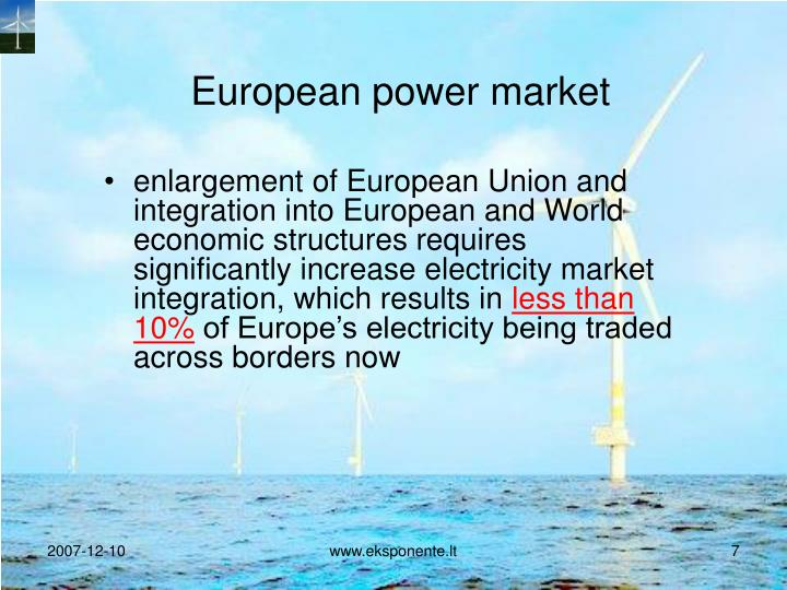 European power market