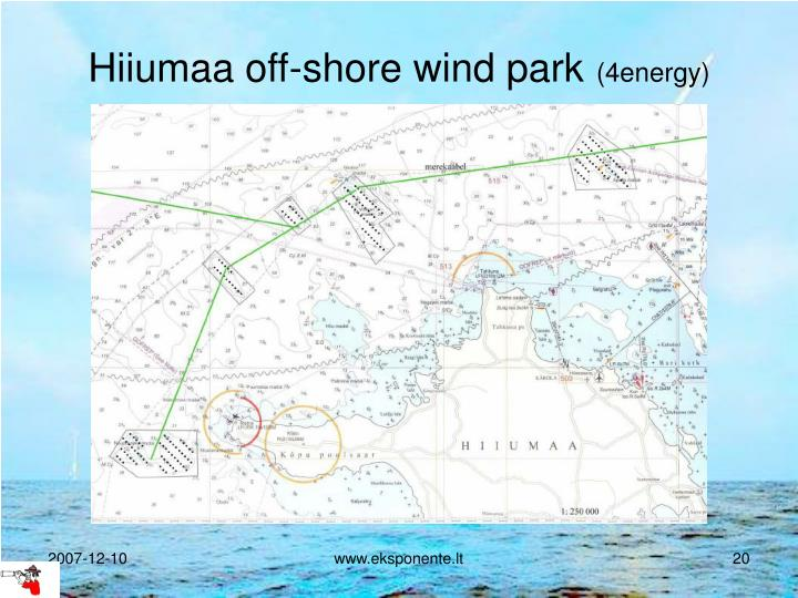 Hiiumaa off-shore wind park