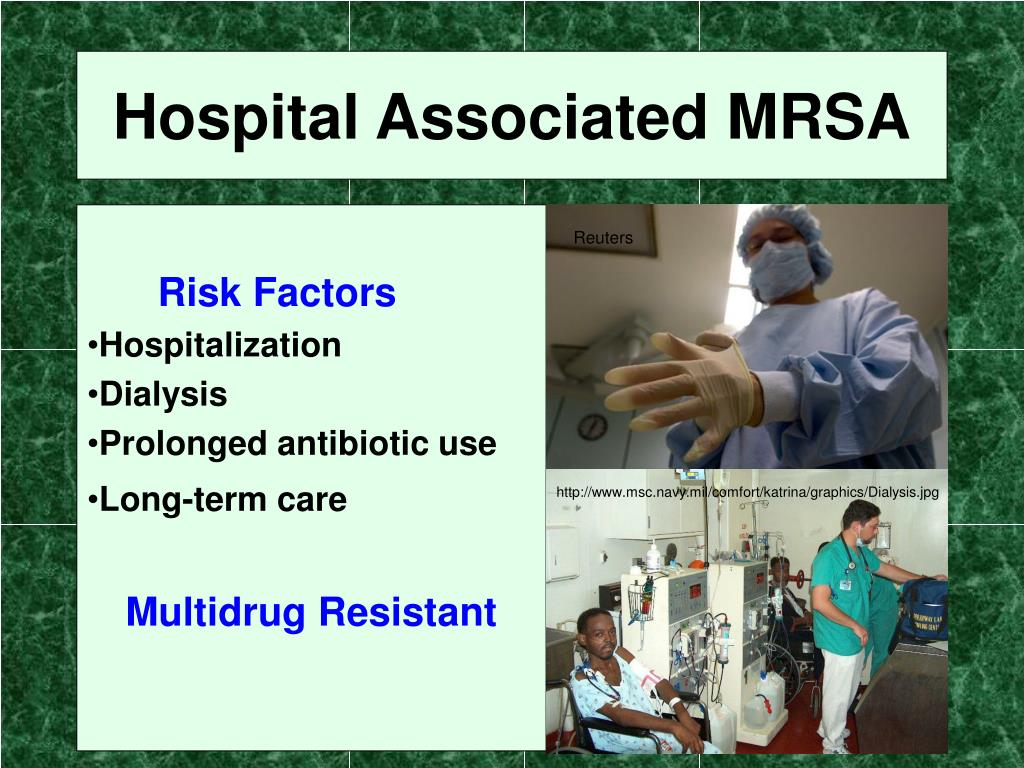 Hospital Associated MRSA