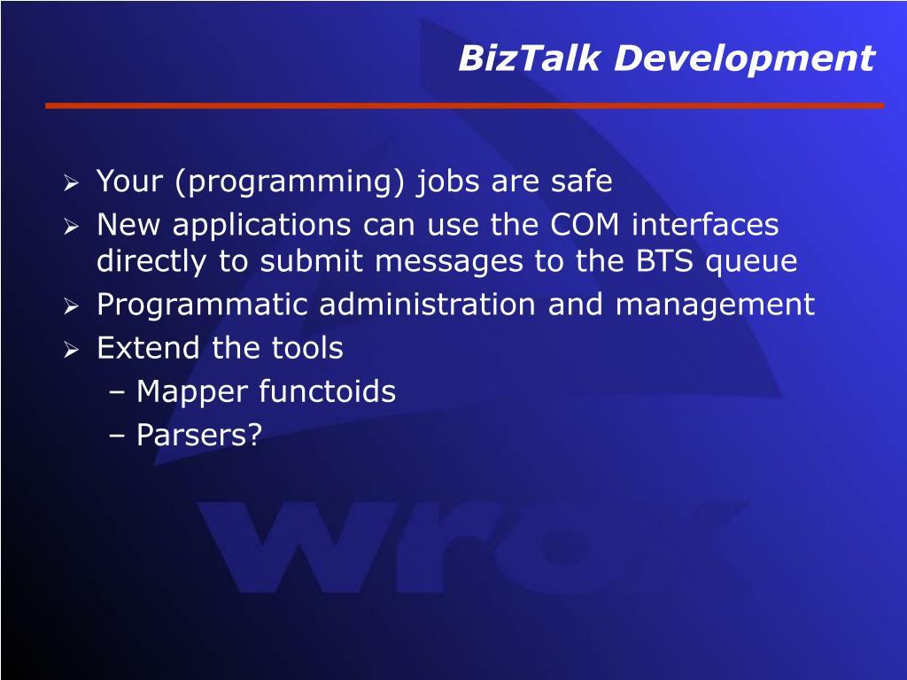 BizTalk Development