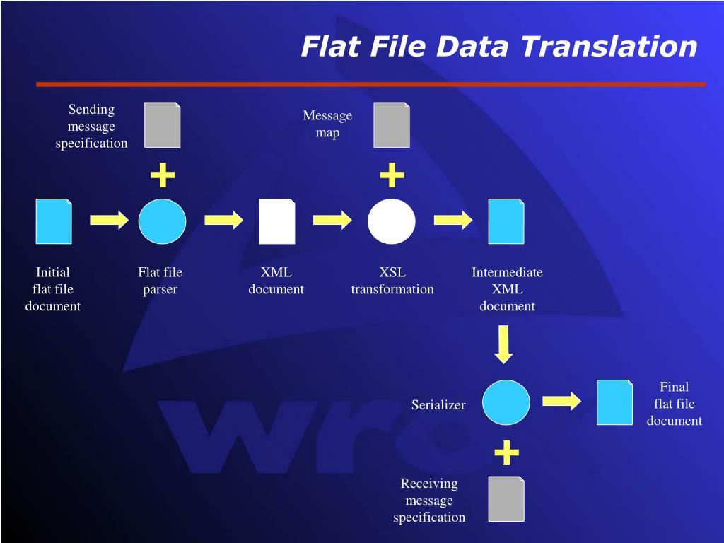Flat File Data Translation