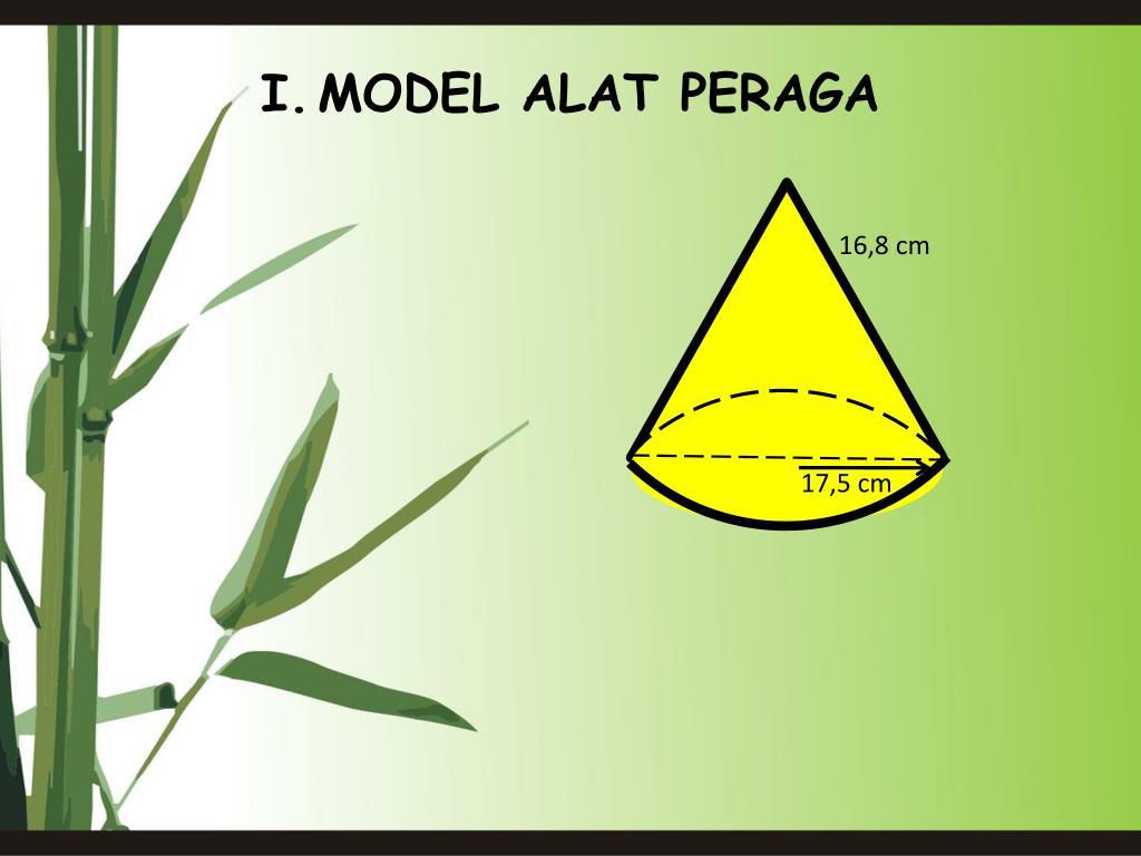 I.MODEL ALAT PERAGA