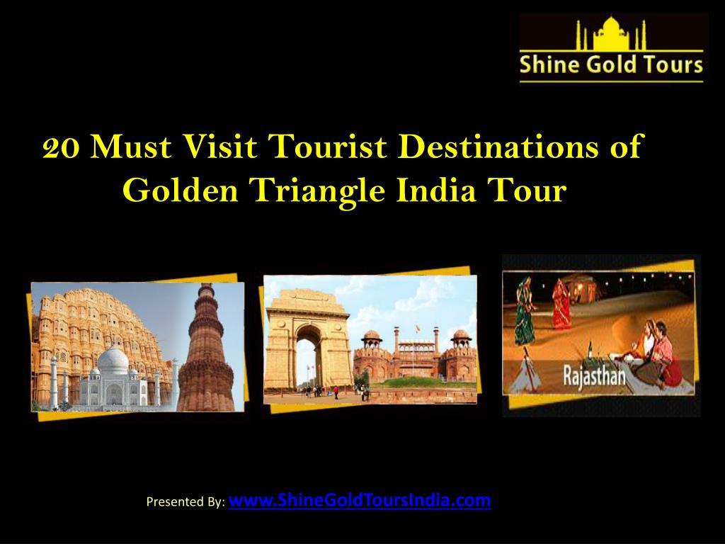 20 Must Visit Tourist