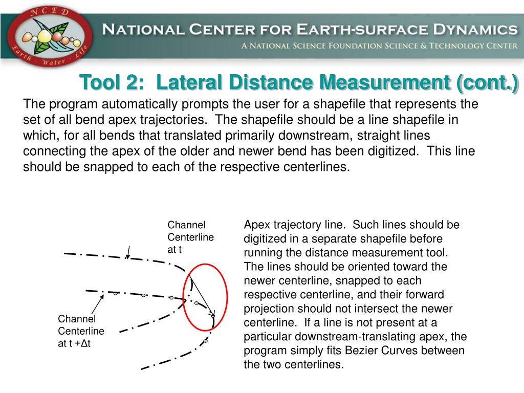 Tool 2:  Lateral Distance Measurement (cont.)