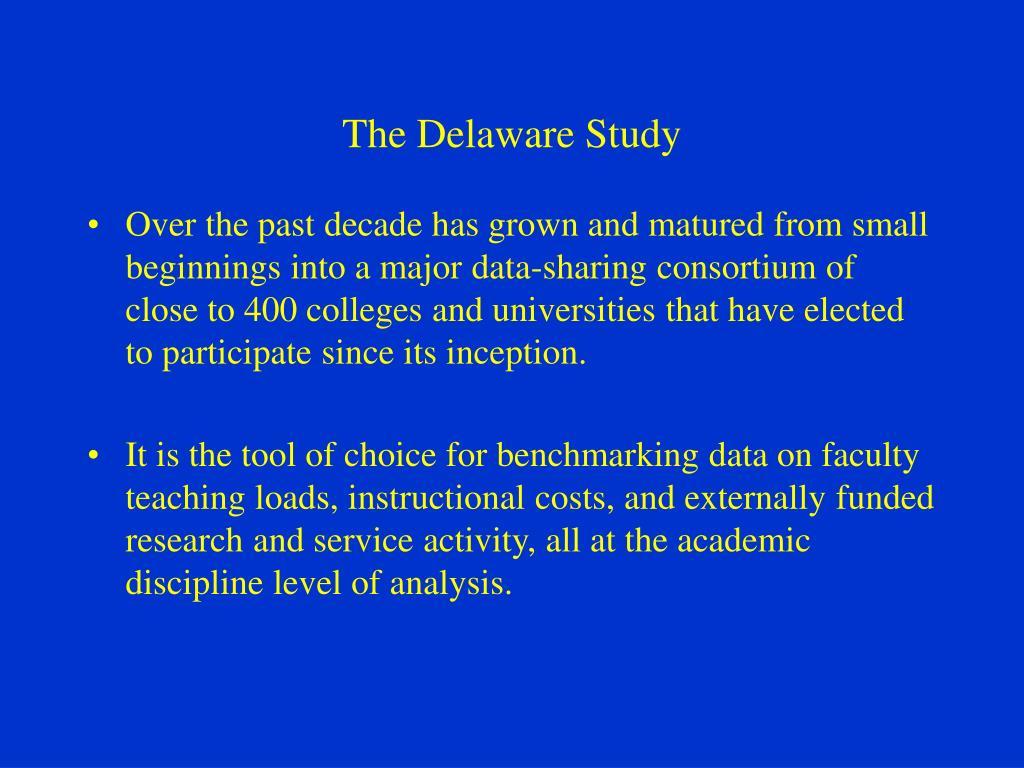 The Delaware Study
