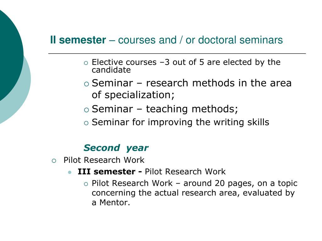 II semester
