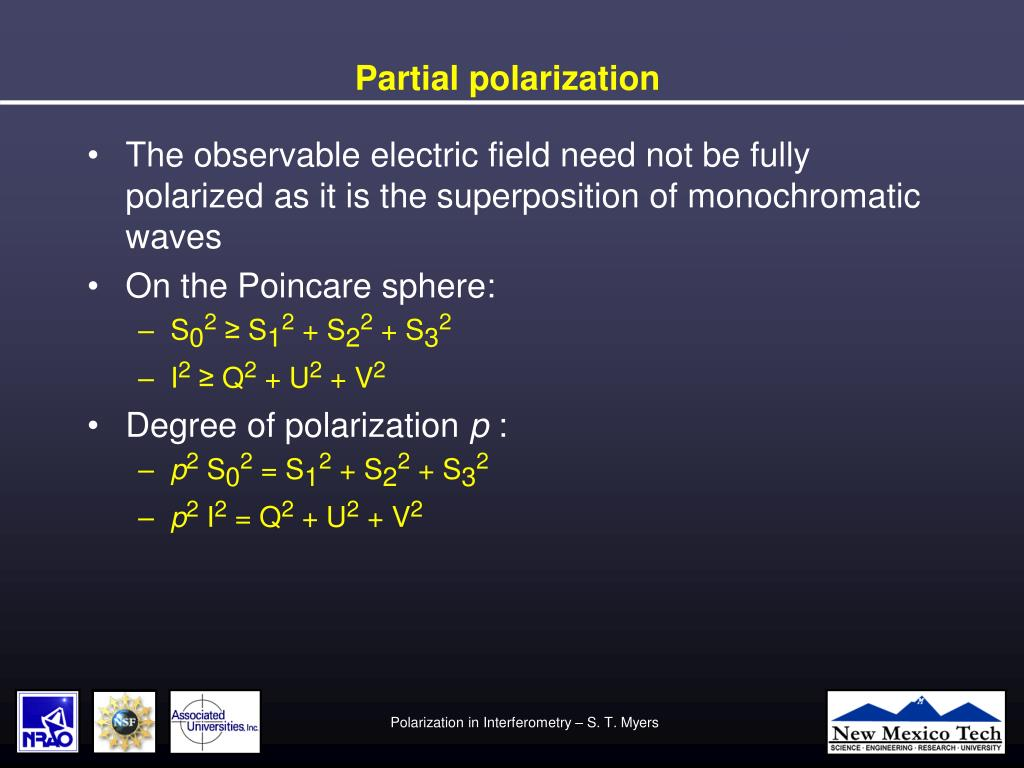 Partial polarization