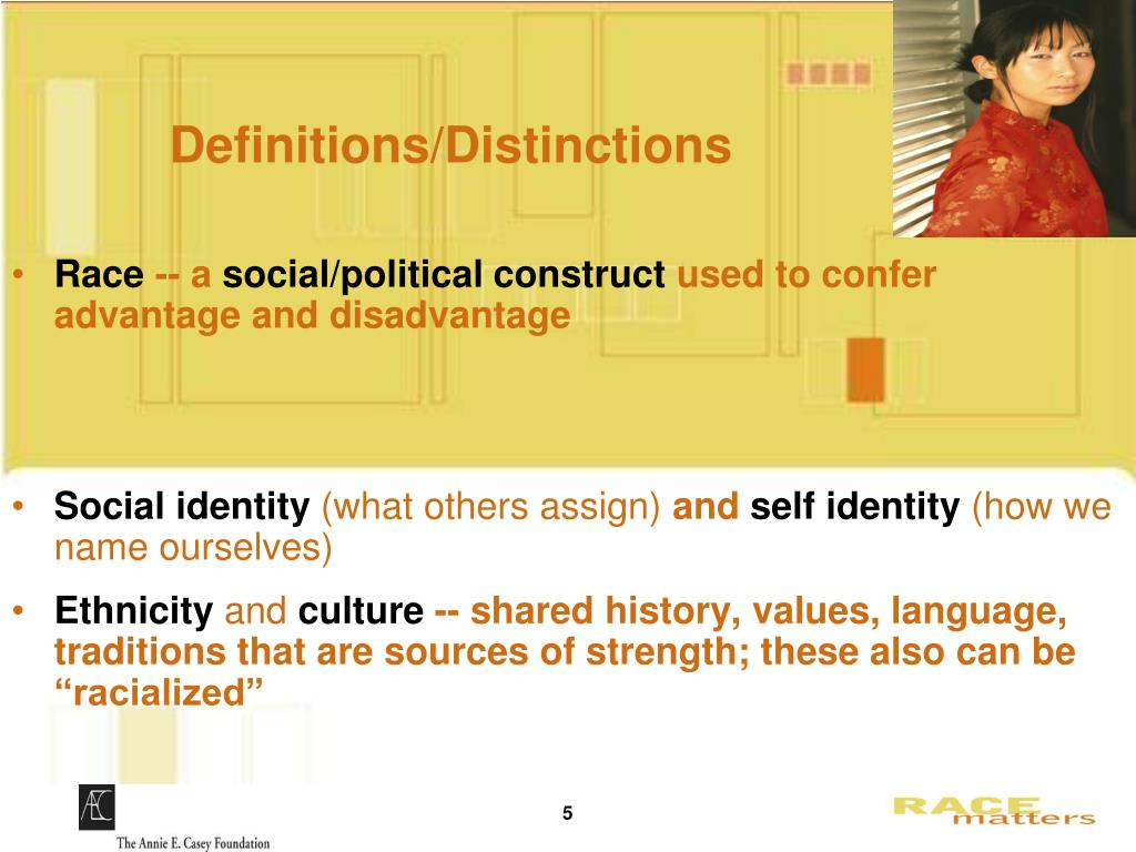 Definitions/Distinctions