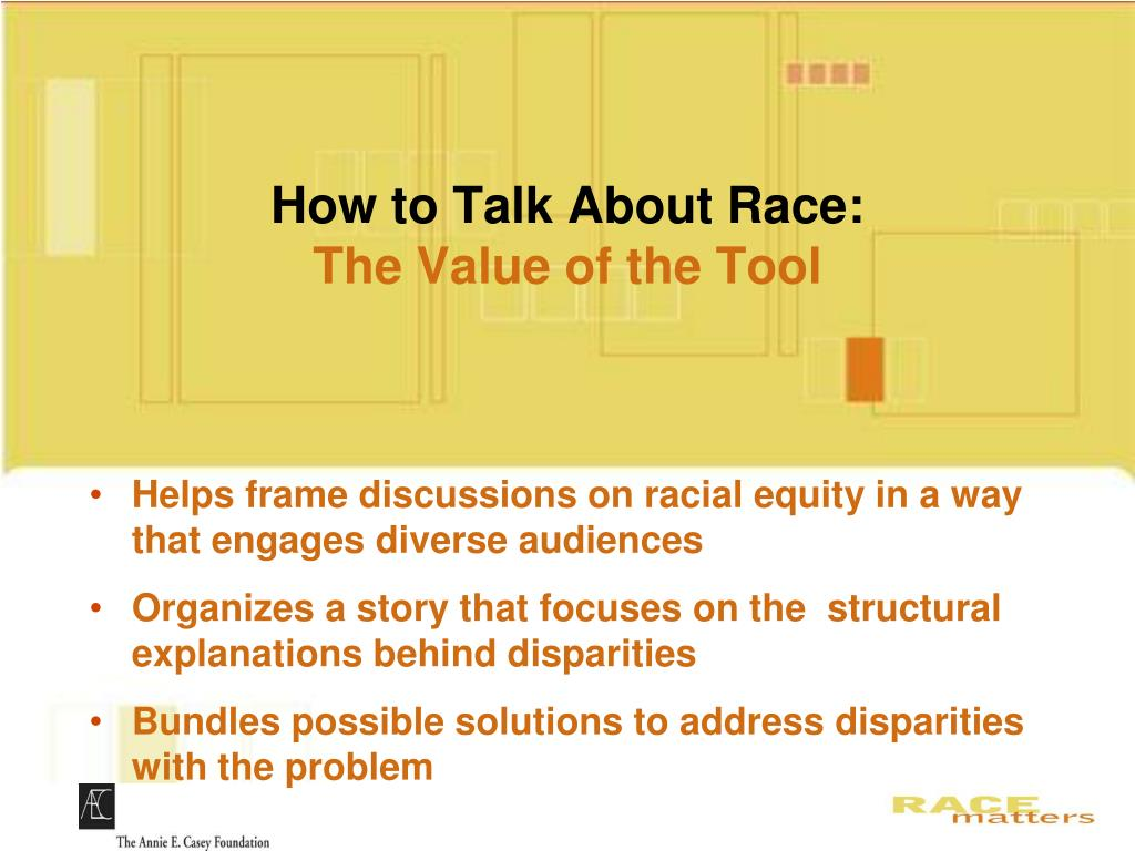 How to Talk About Race: