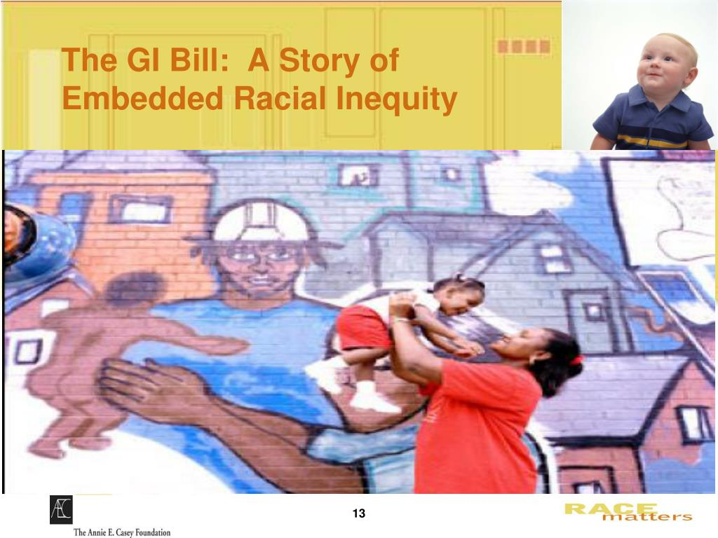 The GI Bill:  A Story of Embedded Racial Inequity
