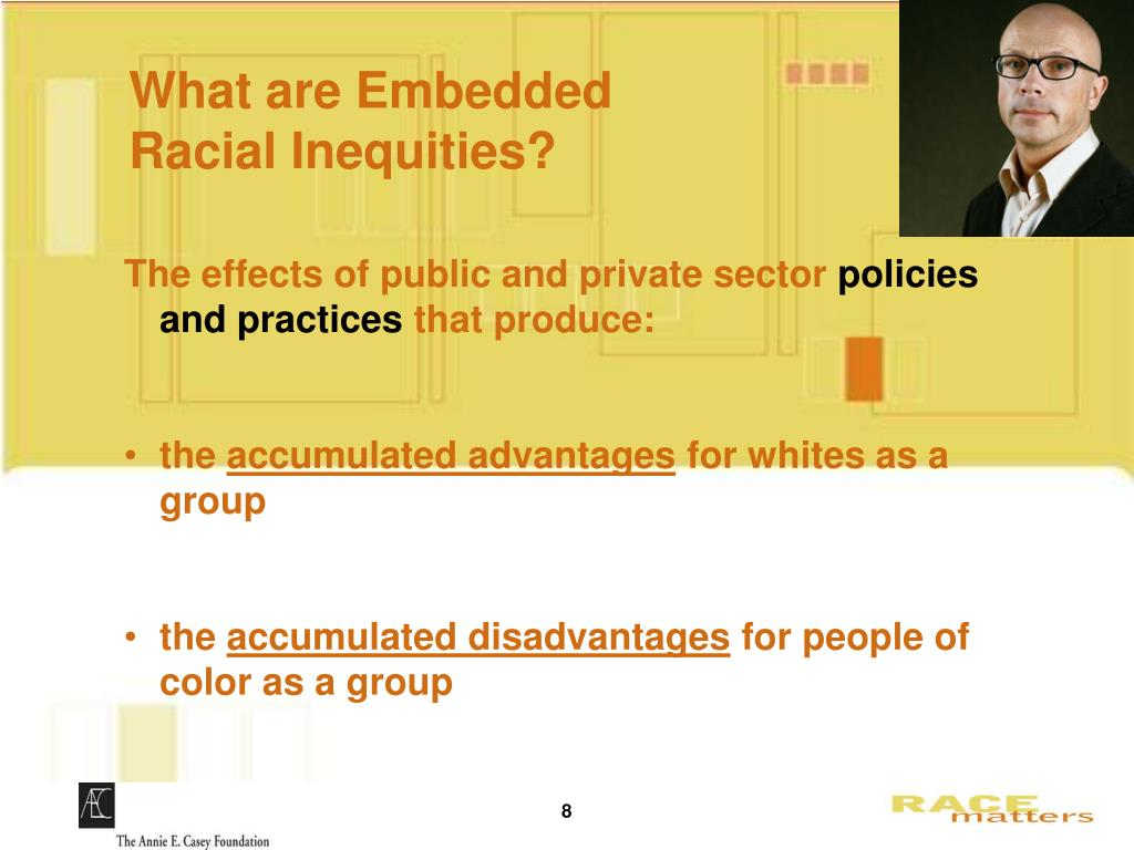What are Embedded       Racial Inequities?