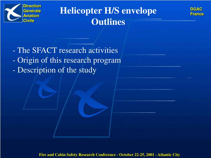 The sfact research activities origin of this research program description of the study