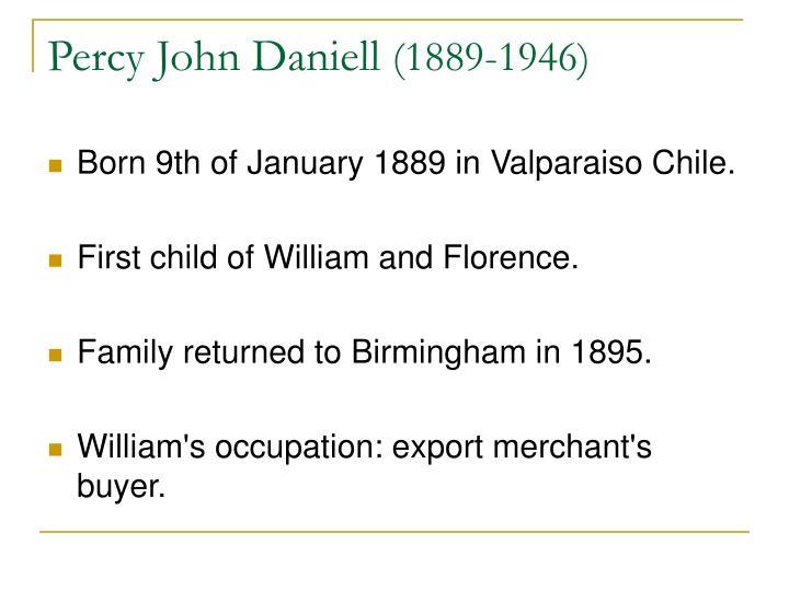 Percy John Daniell