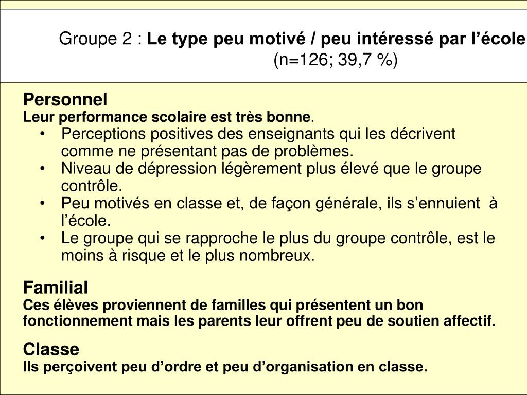 Groupe 2 :