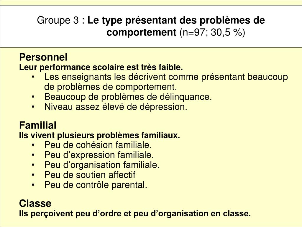 Groupe 3 :