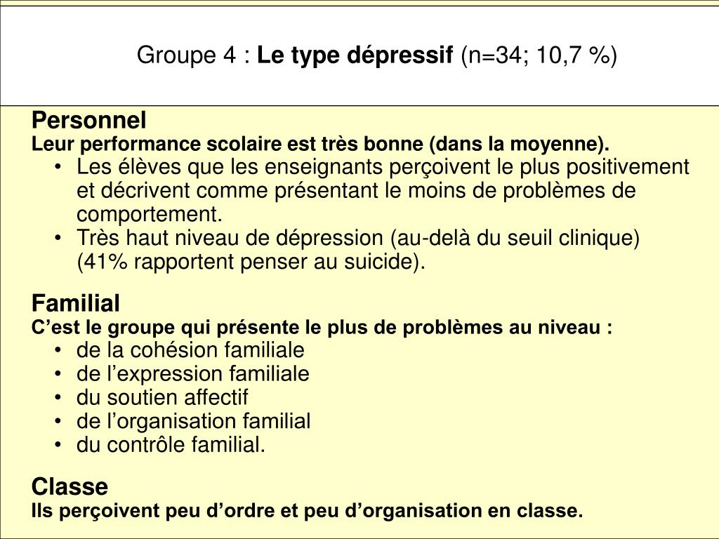 Groupe 4 :