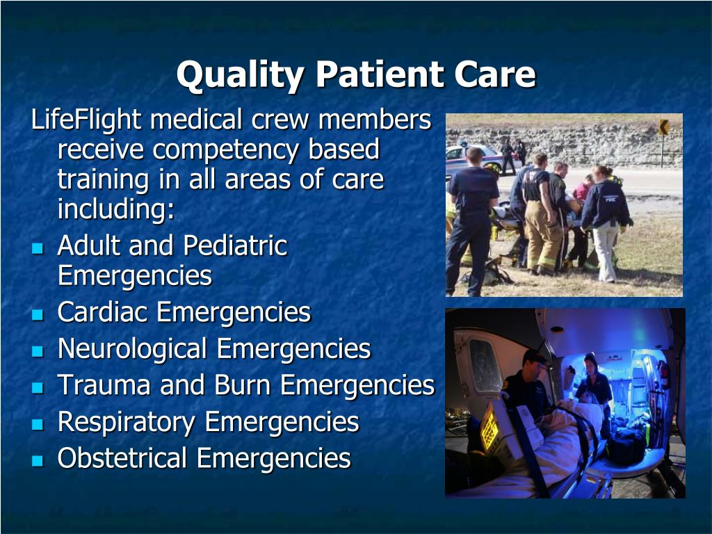 Quality Patient Care