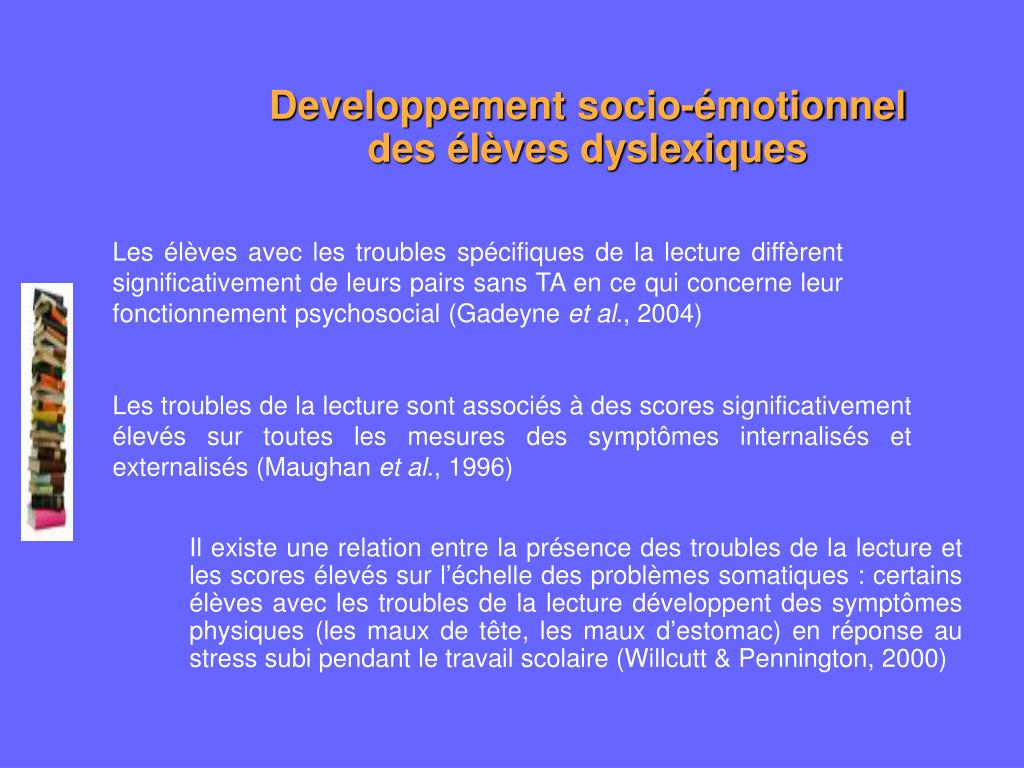 Developpement socio-émotionnel