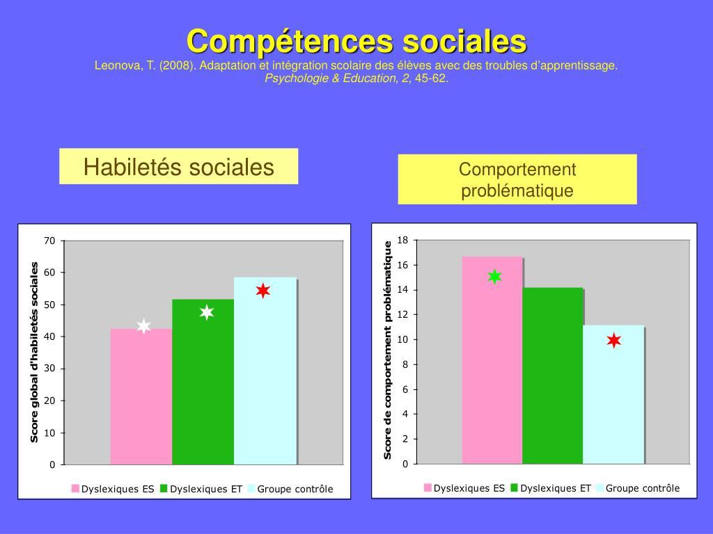 Compétences sociales